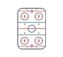 Ice Rink Diagram Hockey Game Companion by Garaga