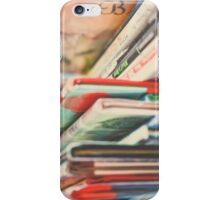 B is for Books iPhone Case/Skin