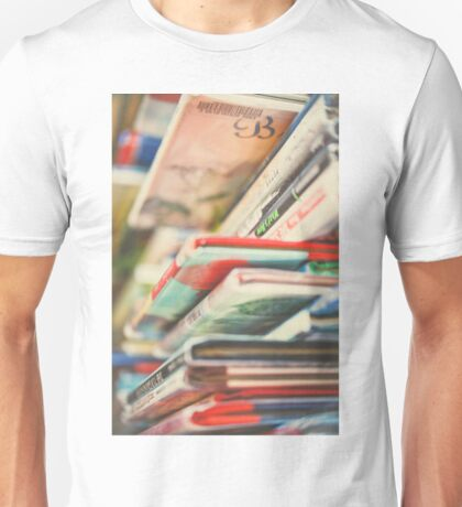 B is for Books Unisex T-Shirt