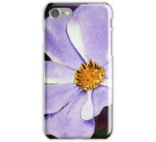 Purple Whimsy Watercolor iPhone Case/Skin