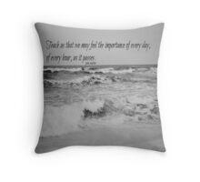 Jane Austen Every Day Throw Pillow