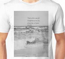 Jane Austen Every Day Unisex T-Shirt