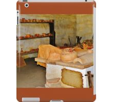 Pottery Shop in the Mission iPad Case/Skin