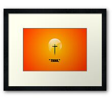 A Good Idea! Framed Print