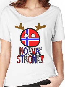 NorwayBall-Norway Stronk! Women's Relaxed Fit T-Shirt