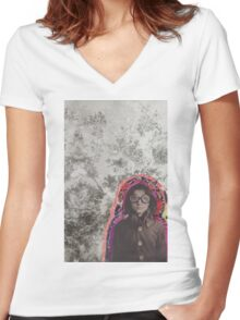 The Pilot Women's Fitted V-Neck T-Shirt