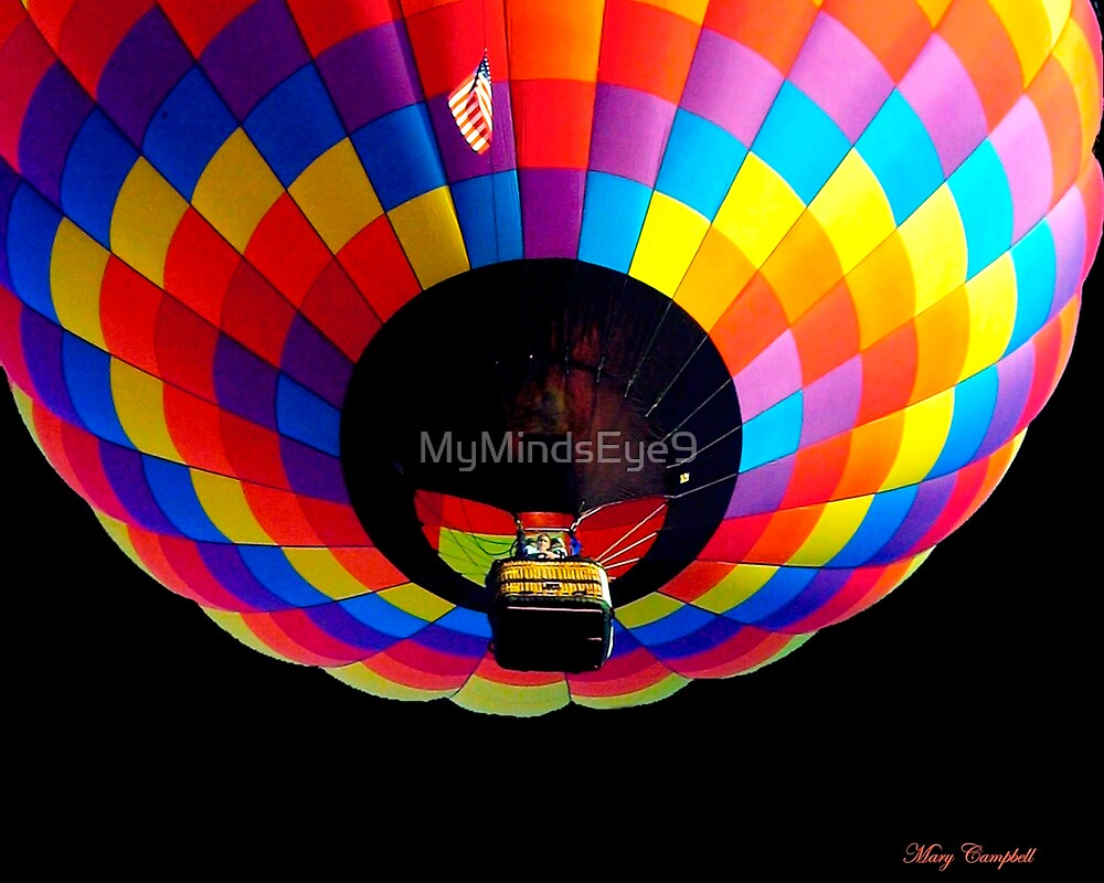 Up Into the Night © by Mary Campbell