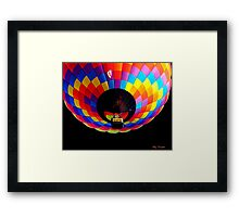 Up Into the Night © Framed Print