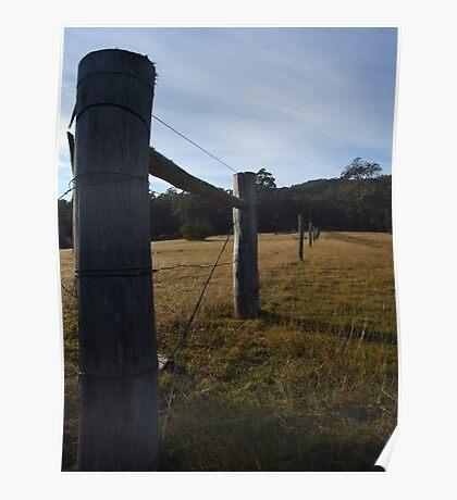 fenceposts Poster