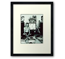 Stereo Widow 1984 Framed Print