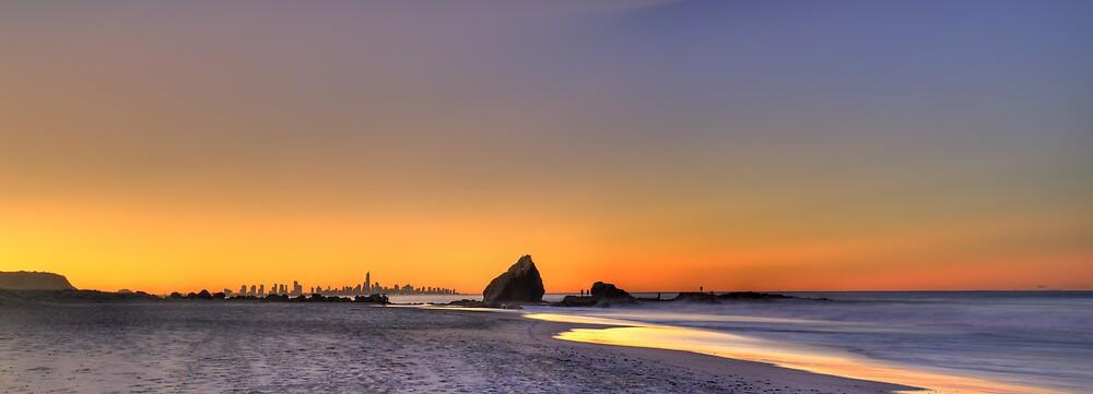 Currumbin Rock by Simon Muirhead