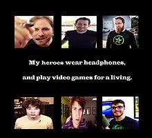 My heroes <3 by AHCreeper