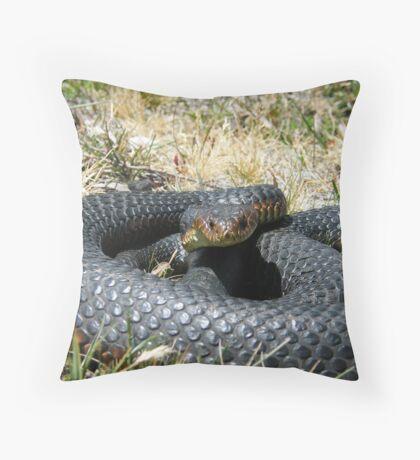 Wild Copperhead Throw Pillow