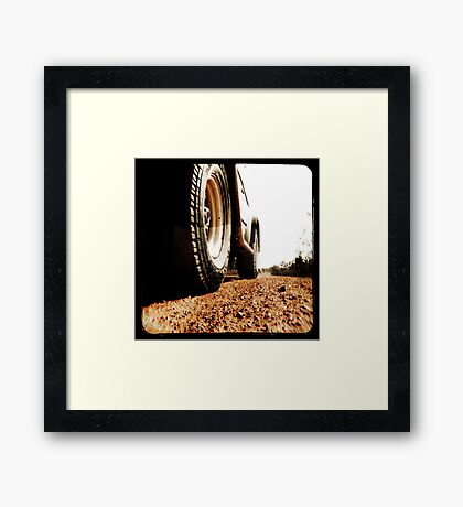 Red Dirt Framed Print