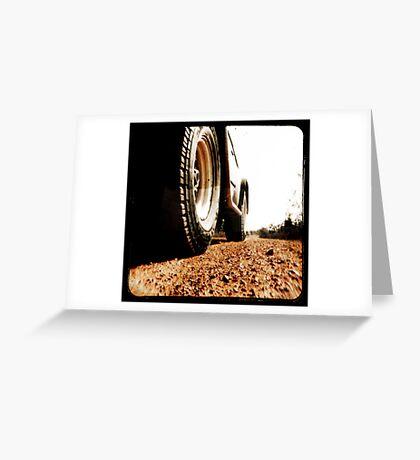 Red Dirt Greeting Card