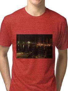 Evening at the marinas in Oriental, NC Tri-blend T-Shirt