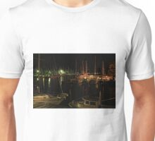 Evening at the marinas in Oriental, NC Unisex T-Shirt