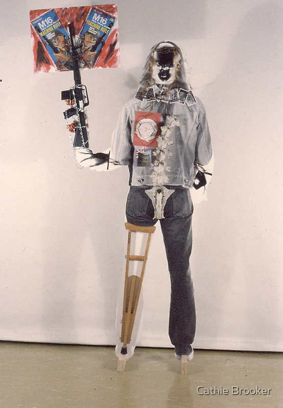 Perpetual Hippy Protest 1984 by Cathie Brooker