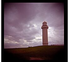 big lighthouse on the hill Photographic Print