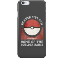 Pewter City Gym iPhone Case/Skin