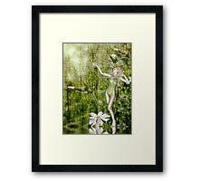 White Elf - John Edwards & Rose Framed Print