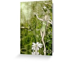 White Elf - John Edwards & Rose Greeting Card