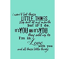 Little Things Photographic Print