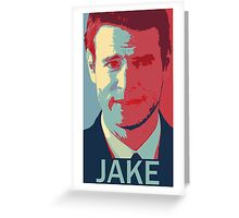 """I need you to know not choosing me is okay"" - jake ballard Greeting Card"