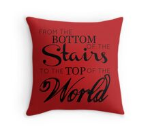 The boys from the stairs Throw Pillow