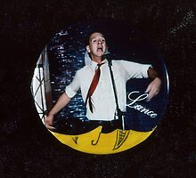 Lance Norton Badge 1984 by Cathie Brooker