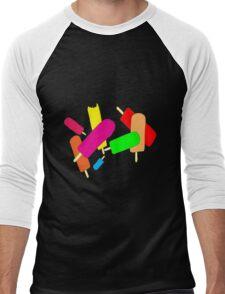 Ice Blocks Men's Baseball ¾ T-Shirt