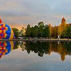 Panoramic reflections by Anthony Caffery