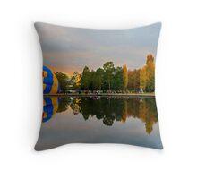 Panoramic reflections Throw Pillow