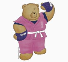 BEARS and FIGHTERS - Dan sticker by MAISON-MACARONI