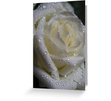 Gouttelettes d'eau Greeting Card