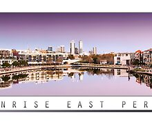 Sunrise East Perth by Kirk  Hille
