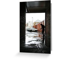 Wet Wednesday Greeting Card