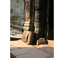 Jungle Temple column Photographic Print