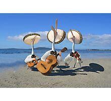 Pelican Mariachi band Photographic Print