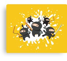 Ninja Squad Canvas Print