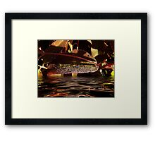"""Small World at Large"" Framed Print"