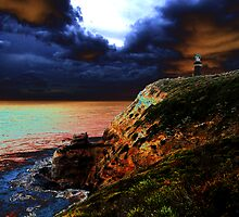 Cape Shank Lighthouse, Victoria by Ngakeone