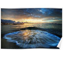 Boat Ramp Splash Poster