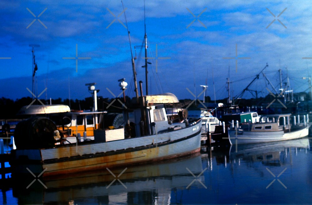 Early Morning Fishing at Lakes Entrance, Victoria, Australia by haymelter