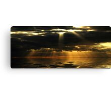 Panorama Sunset Canvas Print