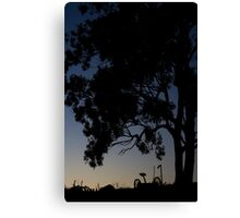 In the Shadow of Giants Canvas Print
