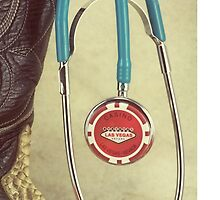 Las Vegas Western Doctor Stethoscope by doorfrontphotos