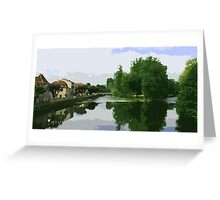 Dordogne region Greeting Card