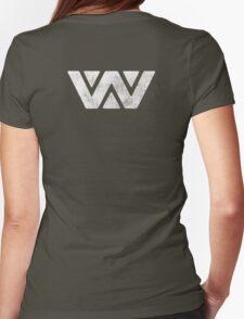 Ripley Weyland Alien 3 (Back) Womens Fitted T-Shirt