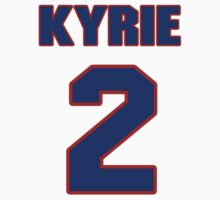 Basketball player Kyrie Irving jersey 2 by imsport